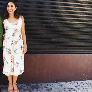 BB Dakota Dresses - BB DAKOTA floral dress